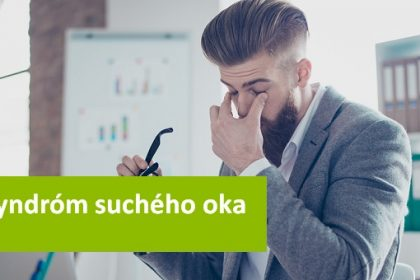 co je syndrom sucheho oka
